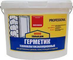germetik neomid teplyj dom dub -купить строймаркет молоток Подольск, Чехов, Климовск, Щербинка, Троицк, Кузнечики