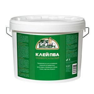 klej pva universalnyj 0 9kg jekspert -купить строймаркет молоток Подольск, Чехов, Климовск, Щербинка, Троицк, Кузнечики