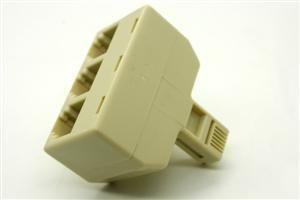 razvetvitel t adapter rj11 1 shteker 3 rozetki 300x200 -купить строймаркет молоток Подольск, Чехов, Климовск, Щербинка, Троицк, Кузнечики