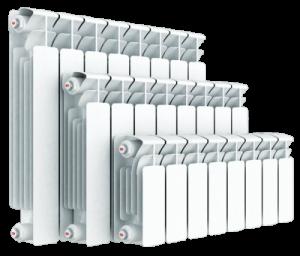 sekcionnyj bimetallicheskij radiator rifar base 500 1 300x256 -купить строймаркет молоток Подольск, Чехов, Климовск, Щербинка, Троицк, Кузнечики